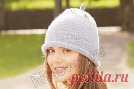 Вязание шапки Frosty Berry - Хитсовет