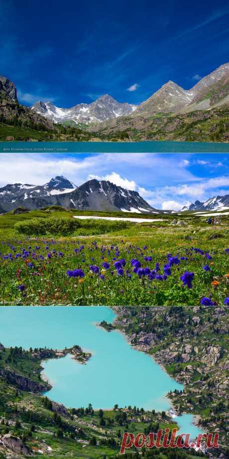 >> Пейзажи горного Алтая | ФОТО НОВОСТИ