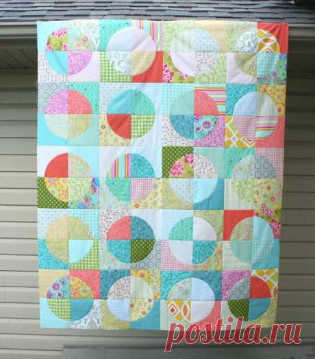 Пэчворк шитье. Блок для одеяльца и мастер класс / Пэчворк, лоскутное шитье. Мастер класс для начинающих, схемы / Лунтики. Развиваем детей. Творчество и игрушки