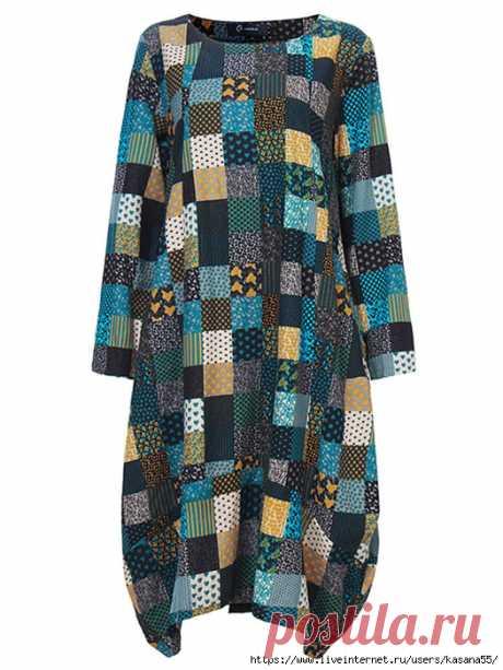 Лоскутное - Подборка идей одежды из Интернета 348!!!