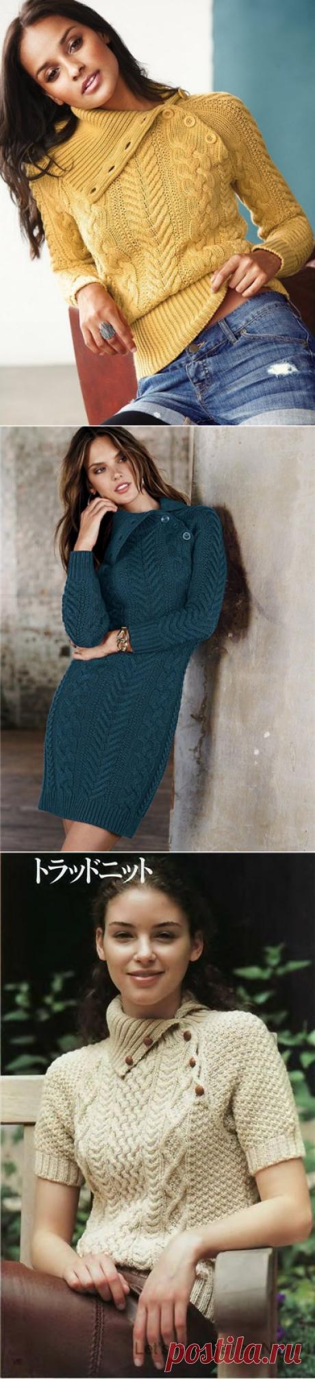 Арановое единство - платье+свитер
