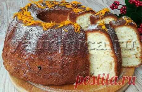 Простой и вкусный кекс в духовке – пошаговый фото рецепт