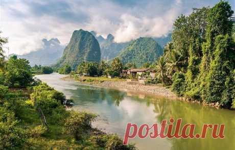 15 живописных достопримечательностей Лаоса, одной из самых красивых стран в Юго-Восточной Азии