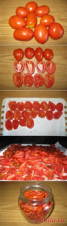 Помидоры вяленые на зиму. Рецепт вяленых помидоров с фото | BeautyInfo