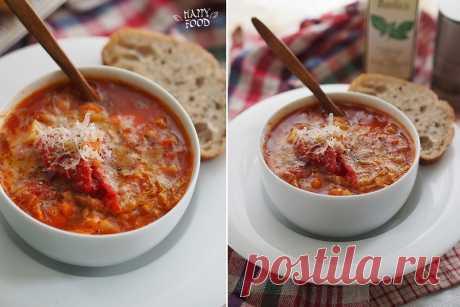 Суп аля риболлита (фасолевый суп)