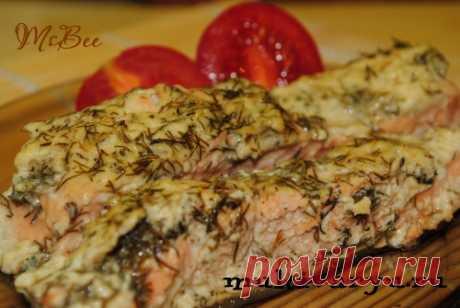 Рыба со сметанно-укропным соусом в мультиварке   Мультиварка - легко готовить, вкусно есть!
