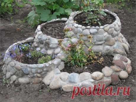 цветники для сада из цемента своими руками мастер класс - 71 тыс. картинок. Поиск Mail.Ru