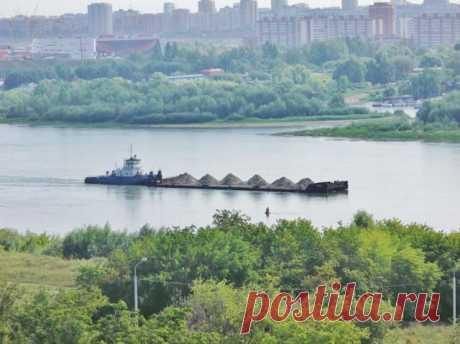река Иртыш (в переводе с татарского - землерой)