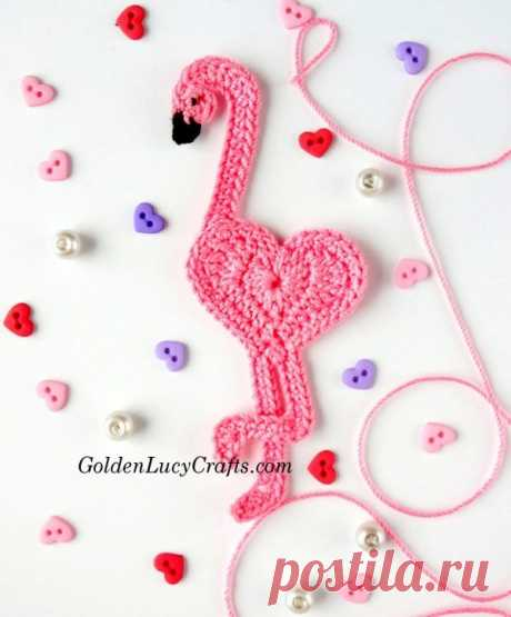 Free Crochet Patterns Valentine's Day, Appliques, Hearts