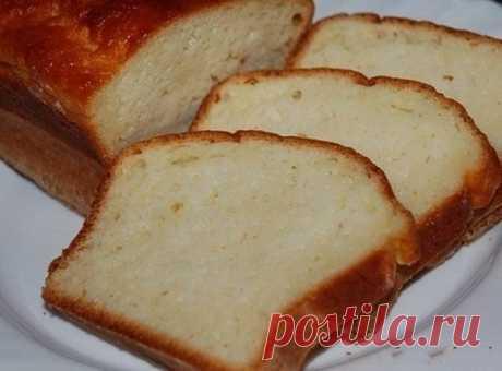Самый простой и вкусный сметанный кекс (сметанник)
