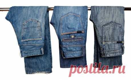 8 советов как ухаживать за джинсами, чтобы они прослужили вам долго | Хитрости Жизни