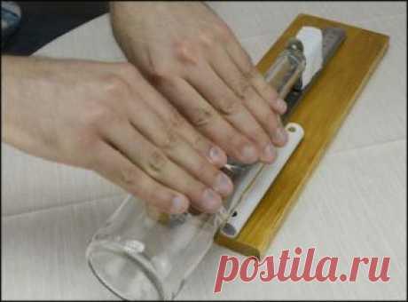 Станок для резки стеклянных бутылок | Своими руками