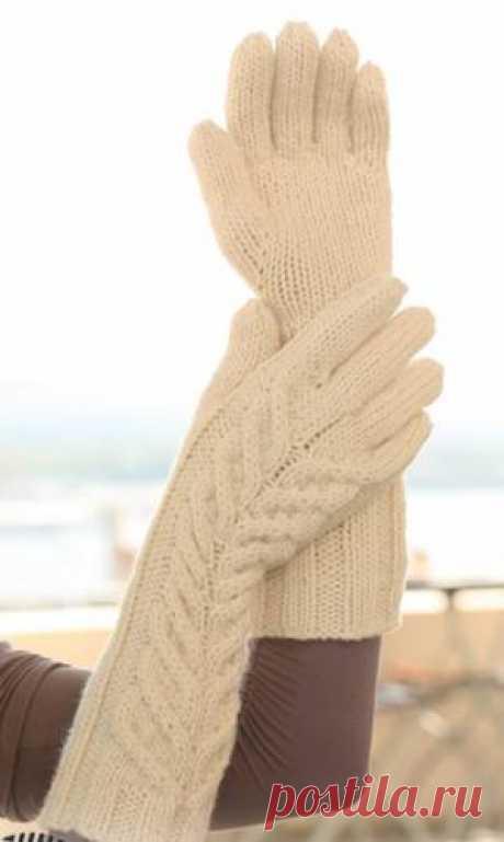 Вязание плотных перчаток - 27 Марта 2012 - СХЕМЫ ВЯЗАНИЯ - Вязание крючком и спицами