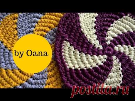 Crochet Tornado hotpad