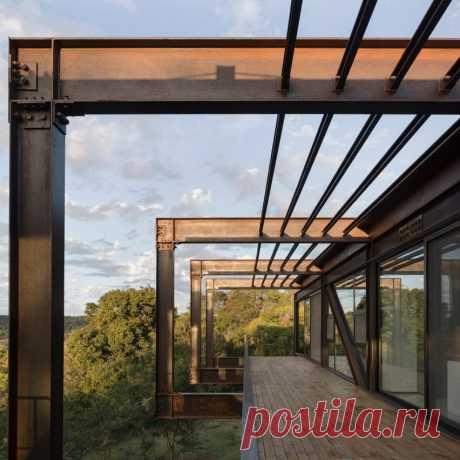 Металлический дом в Парагвае от Bauen собрали за семь дней