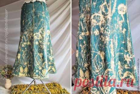 Расписываем юбку белизной из шприца | Журнал Ярмарки Мастеров