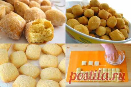 *Лимонные подушечки* - на сковороде и в духовке - Готовьте с Любовью
