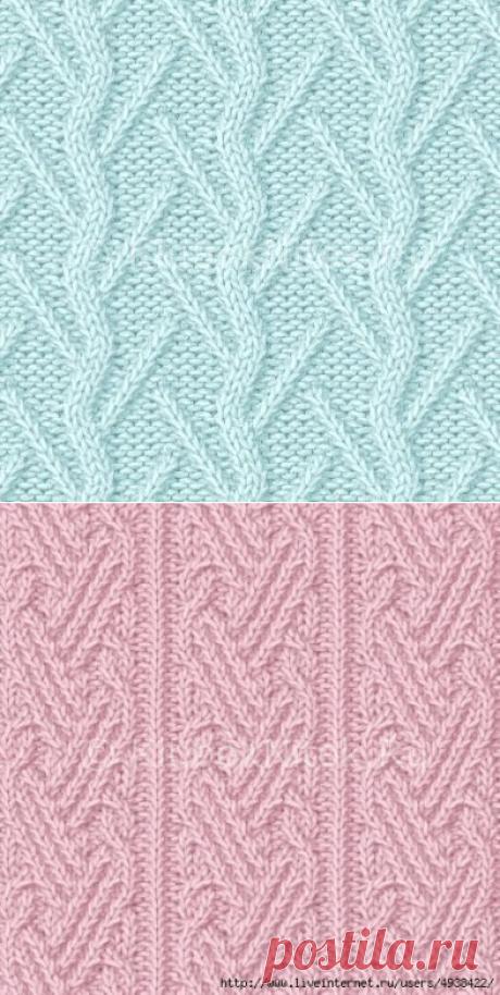 Шикарные узоры спицами   Араны   Вязание спицами и крючком. Схемы вязания.