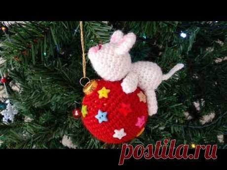 Crochet Lovely Christmas Ball Cover – Crochet Ideas