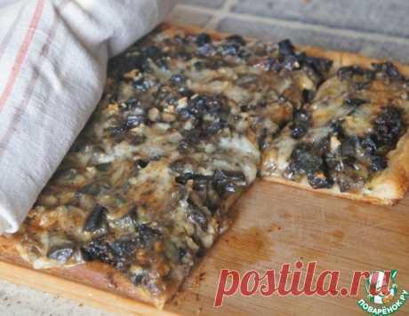Пирог с грибами на слоеном тесте – кулинарный рецепт