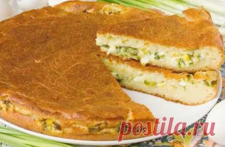 Шарлотка с капустой - Великий повар - пошаговые фоторецепты