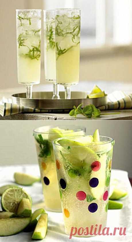 Рецепт 10 рецептов домашнего алкогольного и безалкогольного Мохито с  в домашних условиях