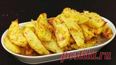 Простой рецепт - картофель, запеченный в сухарях | Кухня наизнанку | Яндекс Дзен