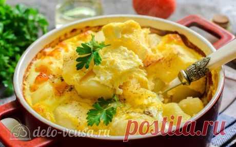 Картофель по-княжески в духовке пошаговый рецепт с фото