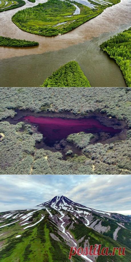 30 фотографий красивейших мест России, сделанных с высоты птичьего полета — Вокруг Мира