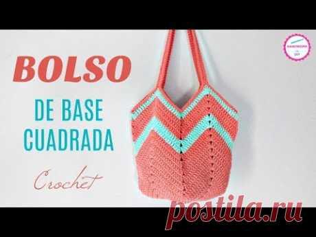 BOLSO CROCHET FÁCIL / HANDWORK DIY
