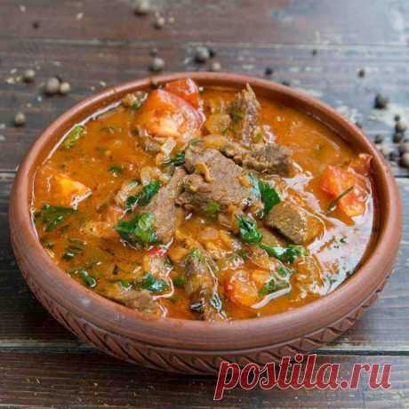 Чанахи с зеленой фасолью — Sloosh – кулинарные рецепты