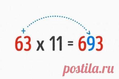 9 математических трюков, которым вас не научат в школе Людей можно поделить на две группы: тех, кто любит и понимает математику, и тех, для кого математика равна непонятным иероглифам. Но, оказывается существует огромное количество трюков и хитростей, кот