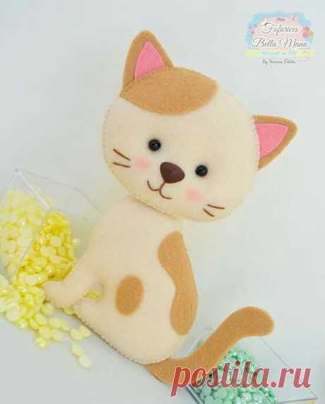 Котята из фетра (Шьем игрушки) — Журнал Вдохновение Рукодельницы