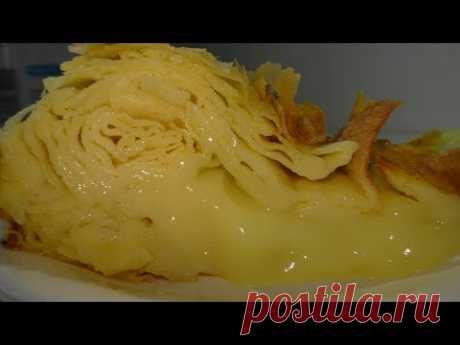 ФЫТЫР. Египетская сладость. ОБЪЕДЕНИЕ) . Fytyr. Egyptian sweetness. Cream pie.