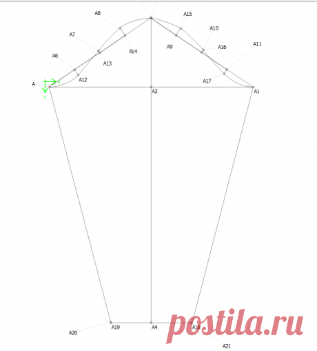 Как построить рукав по готовой выкройке? | LT BRADBOOK | Яндекс Дзен