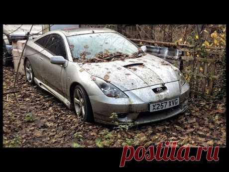Abandoned Toyota. Abandoned Japan cars. Rusty forgotten vehicles
