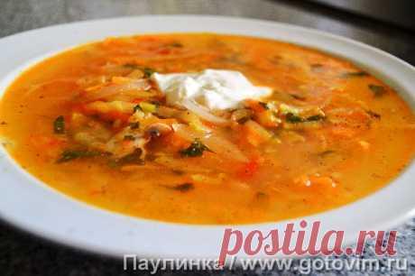 Кабачковый суп. Рецепт с фото Это мой самый любимый суп. Варился обычно на даче в те времена, когда я еще сажала кабачки. Пусть простой, но есть его можно бесконечно. Кабачковый суп готовить лучше в казане, но можно и в воке.
