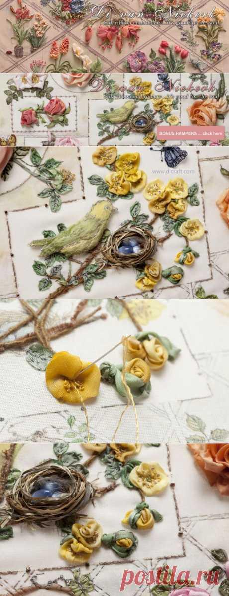 How to make cute little roses   Di van Niekerk