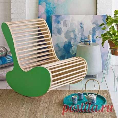 Делаем оригинальное кресло-качалку — ОчУмелые ручки