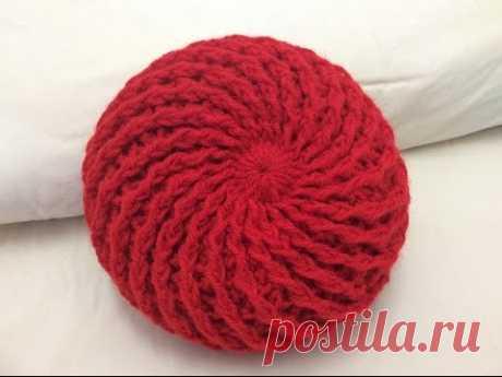Móc m ũ len đẹ p phần 1 vòng 1_3 How to crochet a beret hat part 1 round 1 to 3