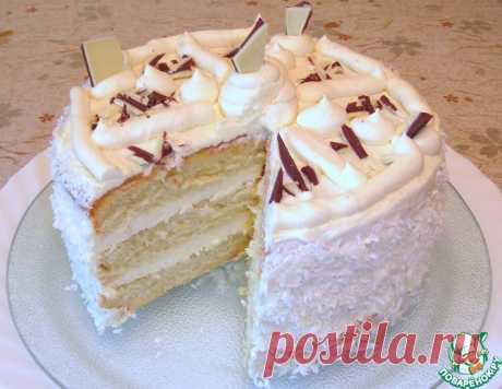 """Торт """"Пломбир"""" – кулинарный рецепт"""