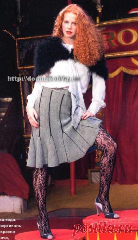 La falda tejida el año