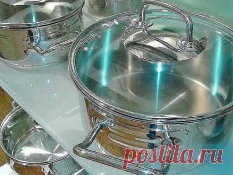Идеально чистая кухонная посуда без особых усилий!
