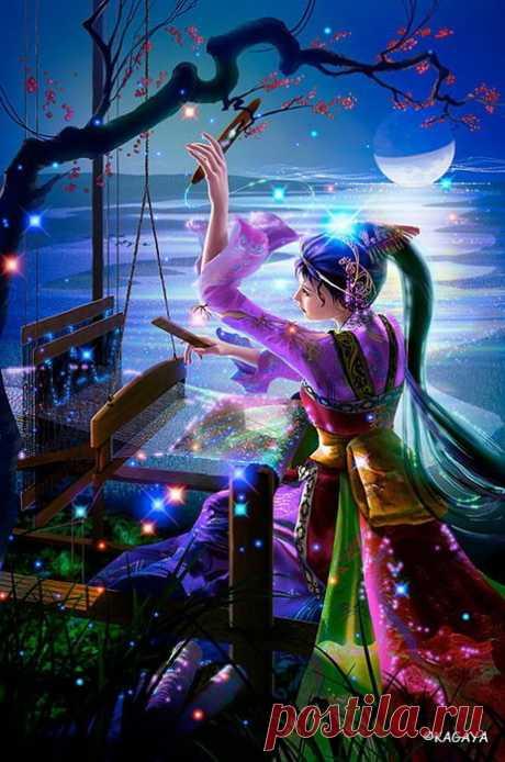 «violetr777 | Вечернее...Волшебная сказка от Ютаки Кагайя» — карточка пользователя Юра Коротков в Яндекс.Коллекциях