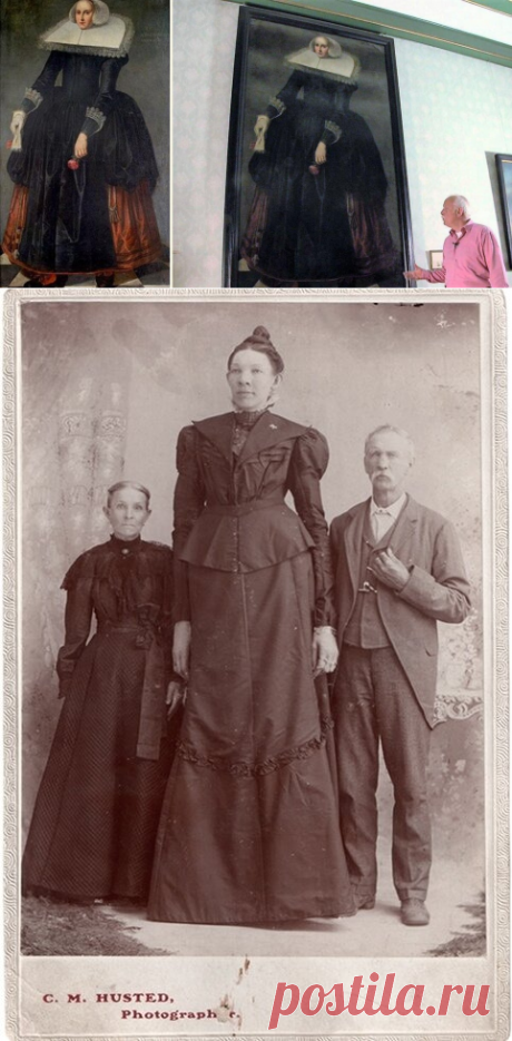 Топ-3 высоких женщин прошлого, ростом от 2.2 до 2.5 метров. Кто они, и как им жилось в мире обычных людей | Истории о людях | Яндекс Дзен