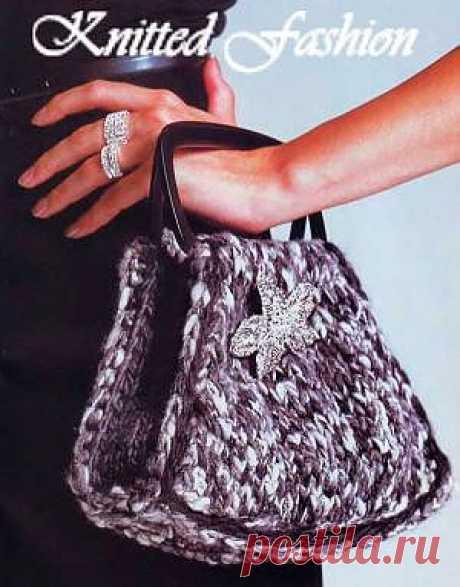 Маленькая сумочка - KnittedFashion.info