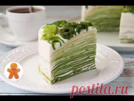 "Pancake ""Весенний&quot Cake; in the Technician Ombr ✧ Ombre Crepe Cake"
