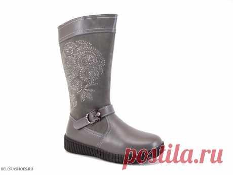 Сапоги школьные Милтон 26109 - детская обувь, обувь для девочек, сапоги. Купить обувь Milton