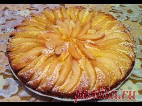 Пирог с Грушами / Грушевый Пирог / Pear Pie / Простой и Быстрый Рецепт (Очень Вкусно)