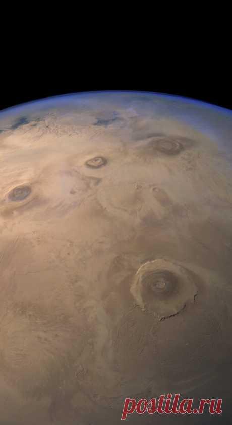 La mirada a Marte de Mars Express | las fotos Vivas